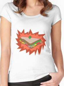 RED Sandvich Women's Fitted Scoop T-Shirt