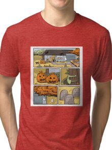 Try a little comics in your life Tri-blend T-Shirt