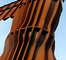 Angel of the North, up close by peely20