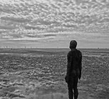 Another Place, Crosby Beach by peely20