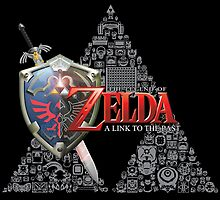 Zelda link to the past design by David  Wrobel