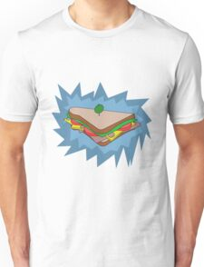 BLU Sandvich Unisex T-Shirt