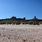 Bamburgh Castle, Northumberland by peely20