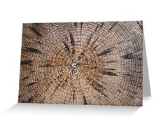 Wood Grain Greeting Card