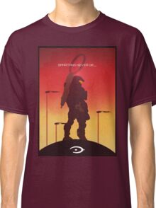 Spartan's Never Die - Halo Classic T-Shirt