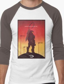 Spartan's Never Die - Halo Men's Baseball ¾ T-Shirt