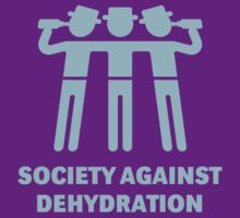 Society Against Dehydration (Lightblue) by MrFaulbaum