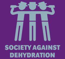 Society Against Dehydration (Lightblue) by MrFaulbaum
