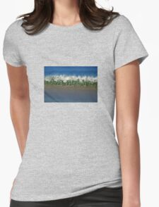 Sand, Sea, Surf Womens Fitted T-Shirt