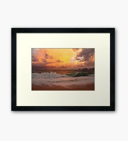 Tropical storm 2 Framed Print