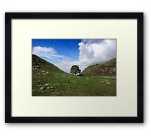 Sycamore Gap - Hadrian's Wall Framed Print