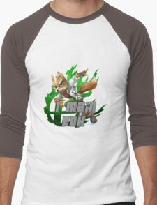 I MAIN FOX Men's Baseball ¾ T-Shirt