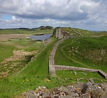 Hadrian's Wall - Steel Rigg towards Housesteads by peely20