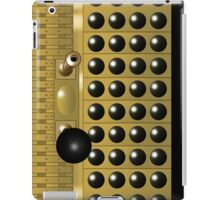 Gold and Black Dalek Mug iPad Case/Skin