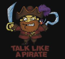 Talk Like a Pirate by beanarts
