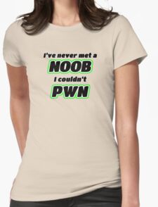 Master Of Pwns Womens Fitted T-Shirt
