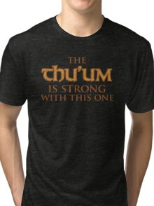 The Power Of The Dragonborn Tri-blend T-Shirt