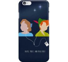 Peter Pan and Wendy iPod iPhone Case/Skin