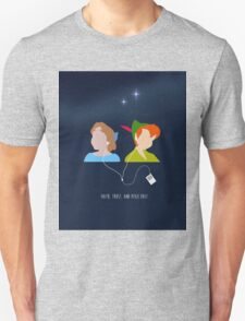 Peter Pan and Wendy iPod T-Shirt