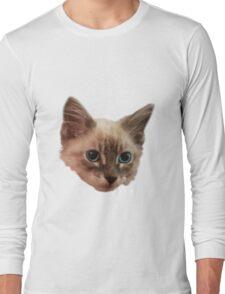 Siemese Kitten  Long Sleeve T-Shirt