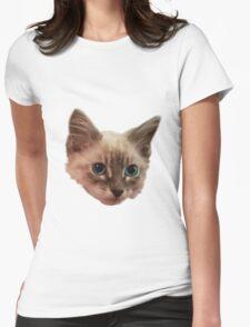Siemese Kitten  Womens Fitted T-Shirt