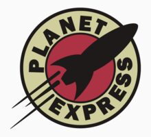 Planet Express Logo by Borsalino Yellow