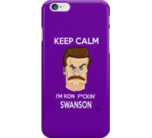 iRon Swanson iPhone Case/Skin