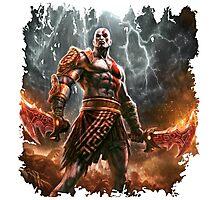 warrior game Photographic Print