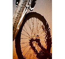 Biking Photographic Print