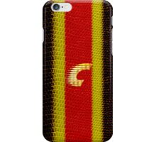 Monogram C personalized gift for him iPhone Case/Skin