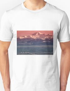Majestic Mt Baker and downtown Vancouver T-Shirt