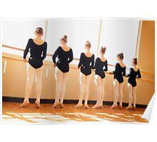 Dancers in the Studio Poster