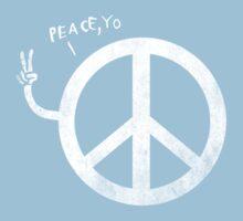 peace yo, Kids Tee