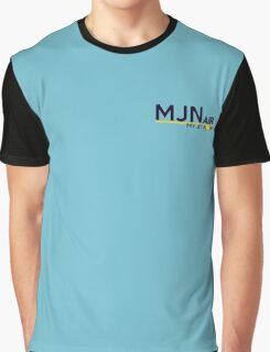 MJN air- my jet now. Graphic T-Shirt