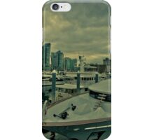 Vancouver harbor  iPhone Case/Skin