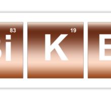 Elemental Biker Sticker