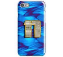Monogram N personalized gift for him iPhone Case/Skin