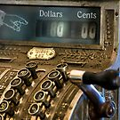 Antique Cash Register by printscapes