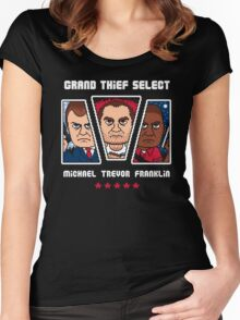GRAND THIEF SELECT Women's Fitted Scoop T-Shirt
