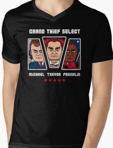 GRAND THIEF SELECT Mens V-Neck T-Shirt