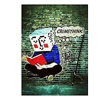 Crimethink Photographic Print
