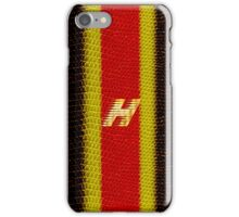 Monogram H personalized gift for him iPhone Case/Skin
