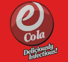 E-Cola Logo by Zahaidies