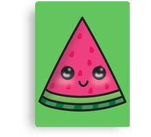 Happy Watermelon Canvas Print