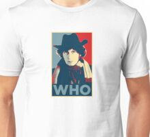 Doctor Who Tom Baker Barack Obama Hope style poster Unisex T-Shirt