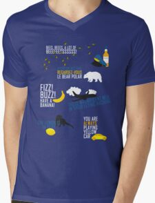 Cabin Pressure Mens V-Neck T-Shirt