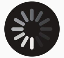 Apple Mac Loading Progress Wheel Symbol by ideology