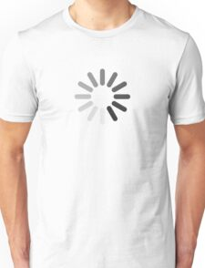 Apple Mac Loading Progress Wheel Symbol Unisex T-Shirt