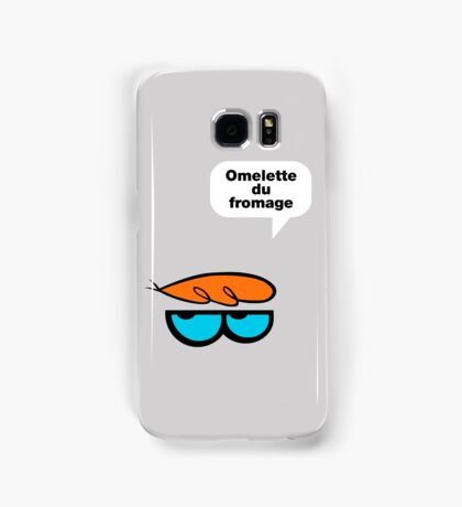 Omelette du fromage Samsung Galaxy Case/Skin