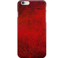 Abstract Dark Red iPhone Case Vintage Cool New Grunge Texture iPhone Case/Skin